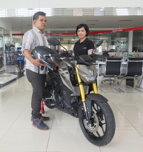 Konsumen Xabre di CV Sumber Jadi Main Dealer Yamaha di Bangka