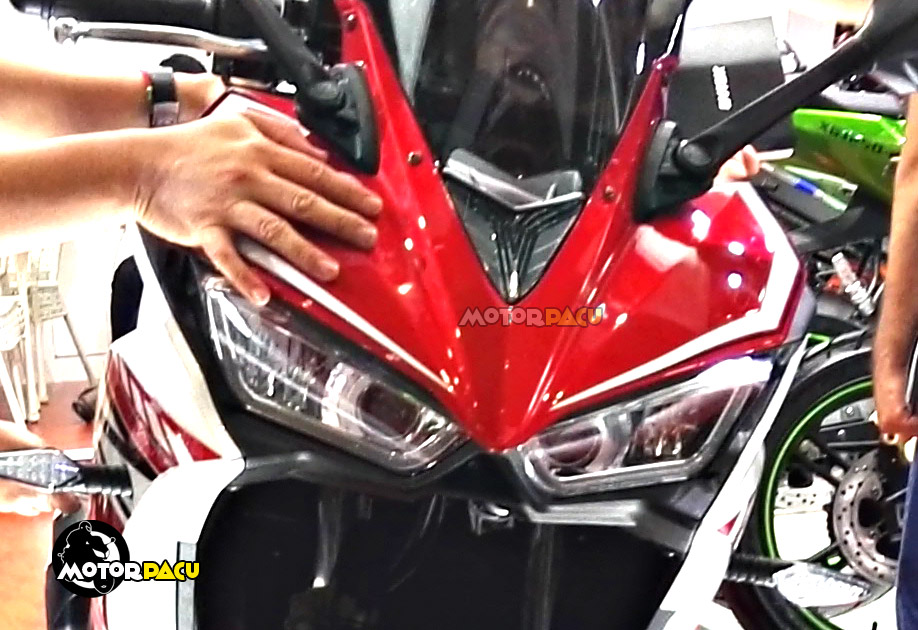 Detail Motor Tiruan Yamaha R25 Motorpacu